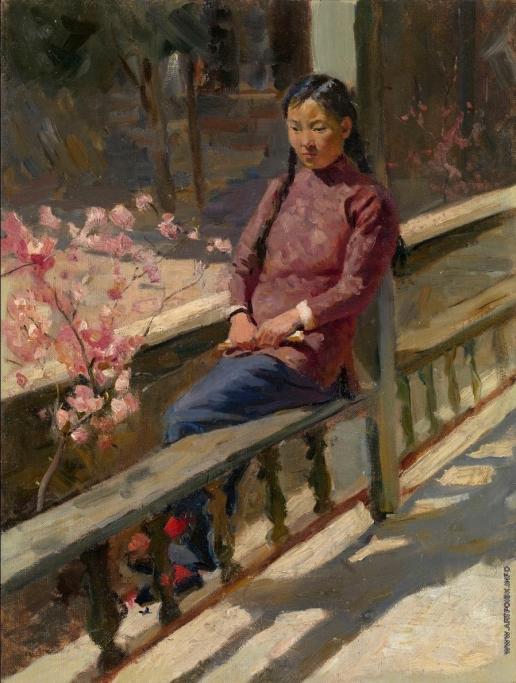 Максимов К. М. Китайская девочка