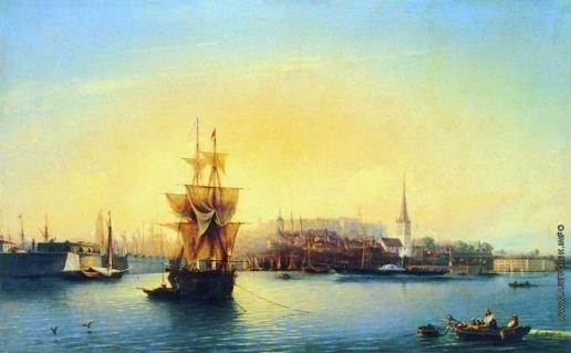 Боголюбов А. П. Таллинская гавань