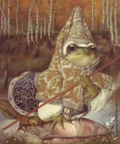 Спирин Г. К. Иллюстрация к сказке «Царевна-лягушка»