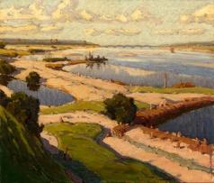 Маковский А. В. Река Волга
