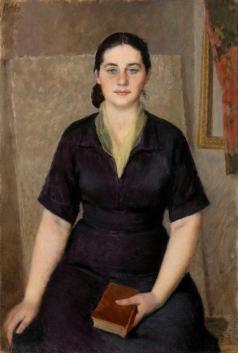 Лебедев В. В. Портрет жены, Ады Сергеевны Лазо