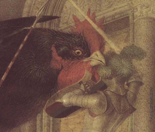 Спирин Г. К. Иллюстрация к сказке «Чёрная курица»