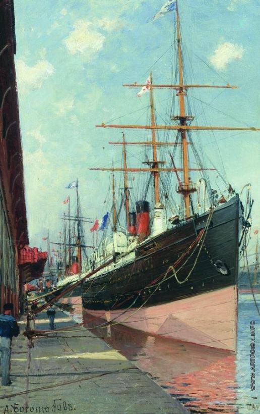 Боголюбов А. П. Французские пароходы в Гавре. 1880–