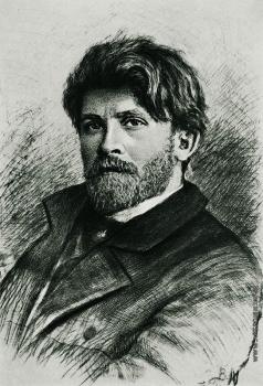 Матэ В. В. Портрет А.П. Рябушкина