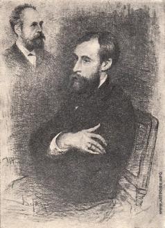 Матэ В. В. Портрет П.М. Третьякова