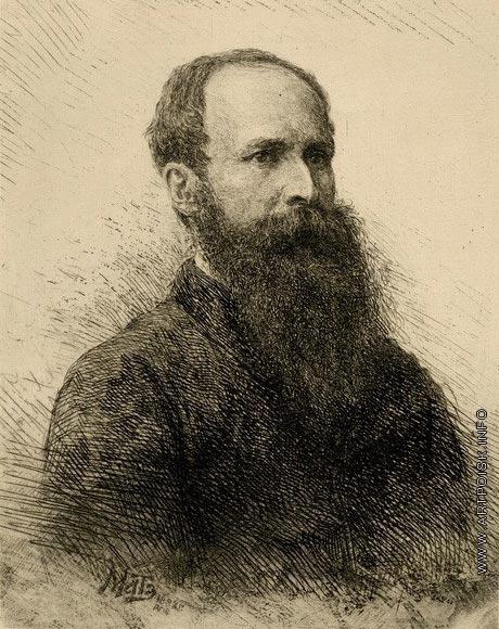 Матэ В. В. Портрет В.В. Верещагина