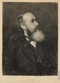 Матэ В. В. Портрет В.В. Стасова