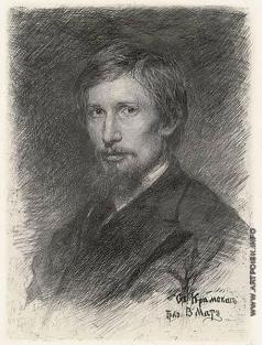 Матэ В. В. Портрет В.М. Васнецова