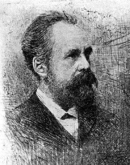 Матэ В. В. Портрет С.М. Третьякова