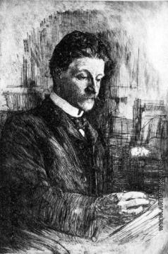 Матэ В. В. Портрет Михаила Врубеля