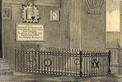 Серяков Л. А. Могила М.И. Голенищева-Кутузова в Казанском соборе в Санкт-Петербурге