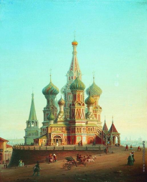 Боголюбов А. П. Храм Василия Блаженного