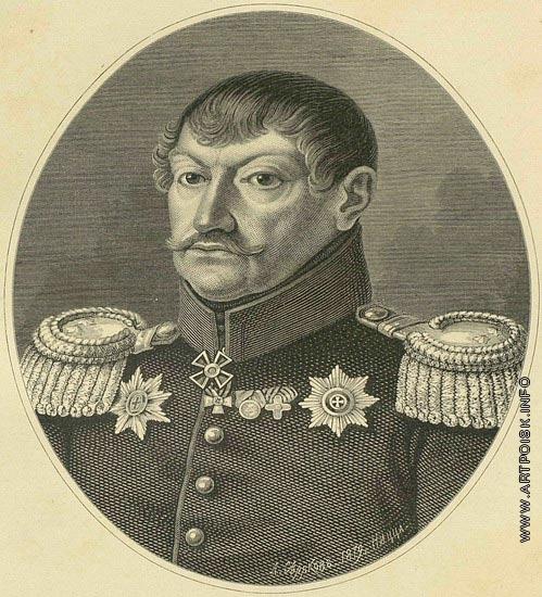 Серяков Л. А. Портрет Лепарского Станислава Романовича