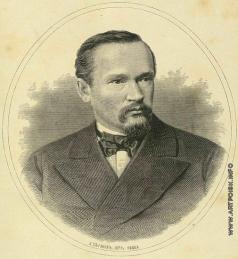 Серяков Л. А. Портрет Михаила Ивановича Семевского