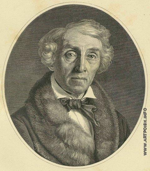Серяков Л. А. Портрет графа Ф.П. Толстого