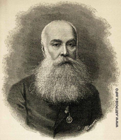 Матюшин И. И. Портрет Сергея Ивановича Зарудного