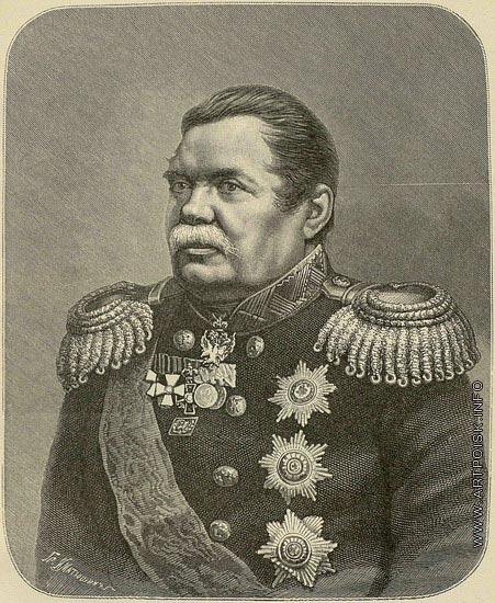 Матюшин И. И. Портрет Михаила Николаевича Муравьева (графа, Виленского)