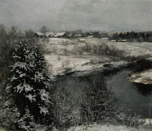 Коркодым В. Н. Старое серебро. Зимний пейзаж