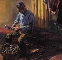 Коркодым В. Н. Николай Вакшанов за работой