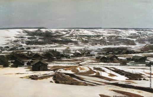 Коркодым В. Н. Ранняя весна на реке Керзенге