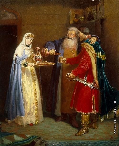 Шварц В. Г. Угощение боярина (князь Серебрянный в гостях у боярина Морозова)
