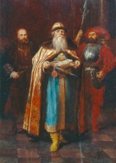 Шварц В. Г. Русский посол при дворе римского императора