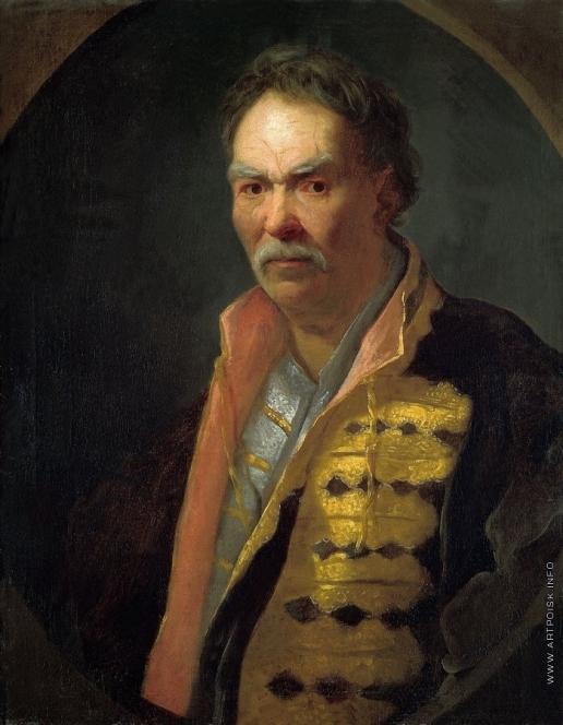 Никитин И. Н. Портрет напольного гетмана