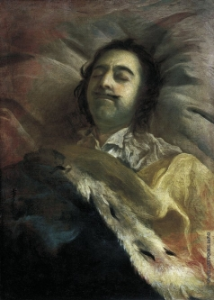 Никитин И. Н. Петр I на смертном ложе