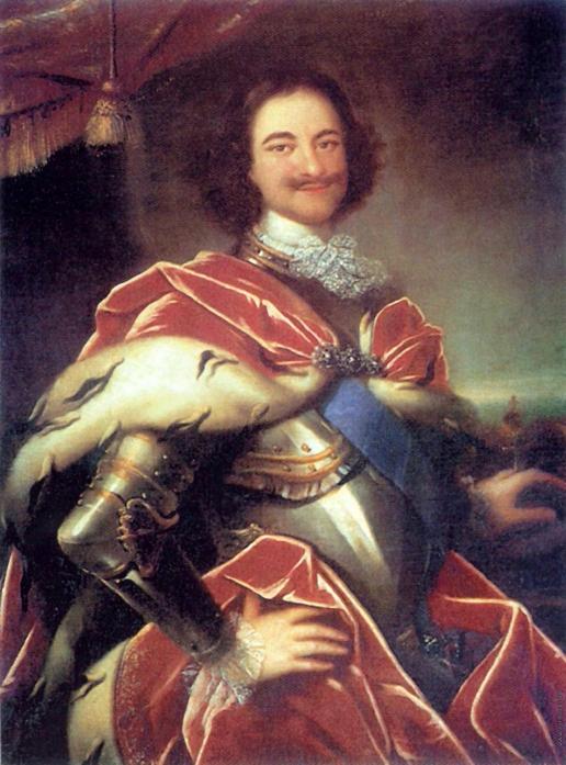 Никитин И. Н. Портрет Петра I