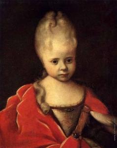 Никитин И. Н. Портрет Елизаветы Петровны ребенком