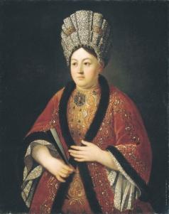 Никитин И. Н. Портрет баронессы М. Я. Строгановой