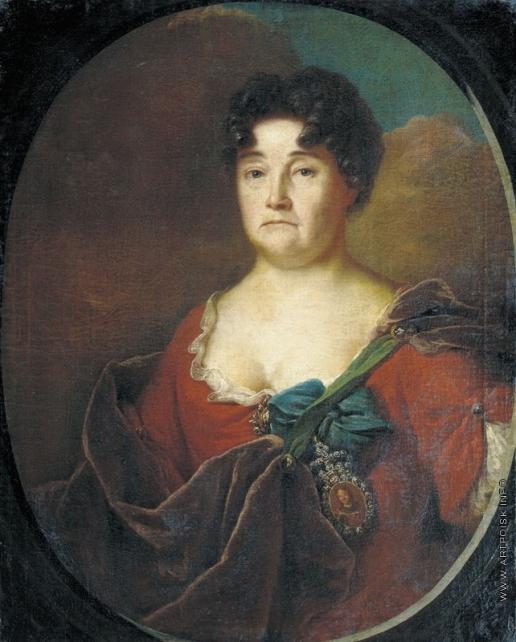 Матвеев А. М. Портрет княгини А.П. Голицыной