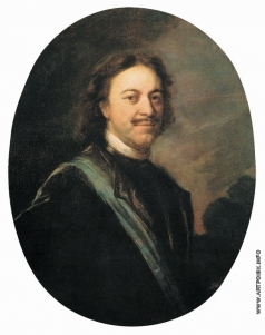 Матвеев А. М. Портрет Петра I