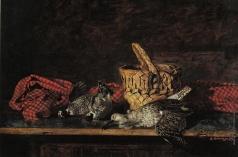 Коркодым В. Н. Натюрморт с кроншнепом