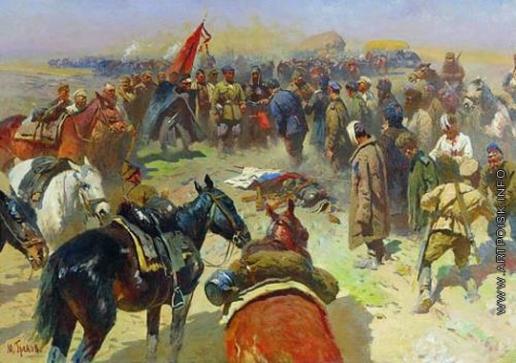 Греков М. Б. Разоружение деникинцев