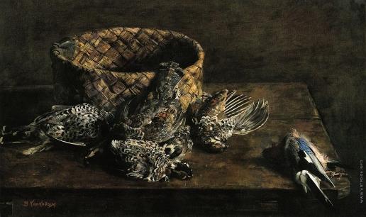 Коркодым В. Н. Натюрморт с рябчиками