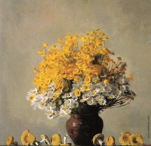 Коркодым В. Н. Натюрморт с желтыми сыроежками