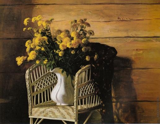 Коркодым В. Н. Натюрморт с золотыми шарами