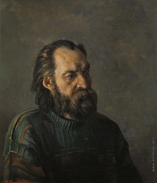 Коркодым В. Н. Портрет художника Михаила Буйлакова