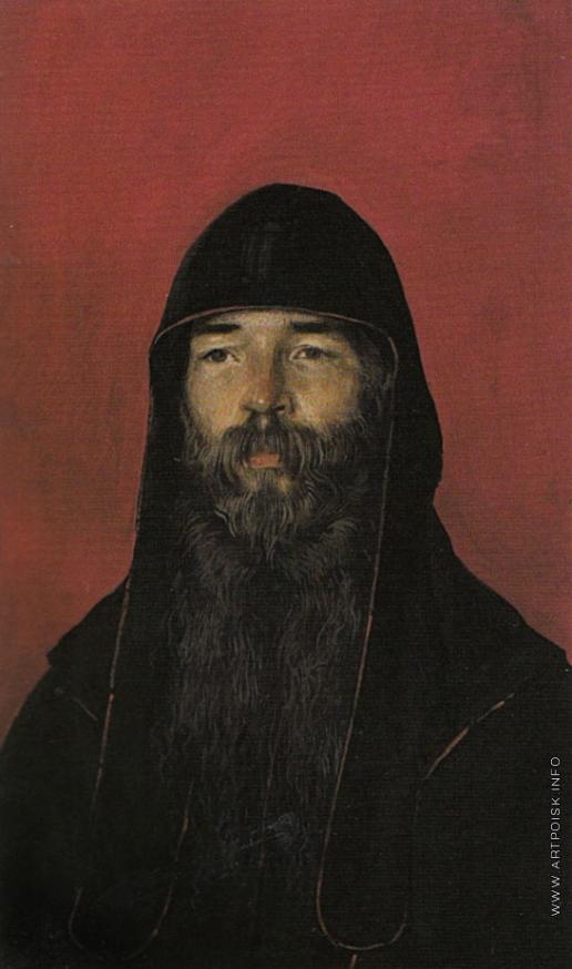 Коркодым В. Н. Портрет монаха-старообрядца отца Алимпия