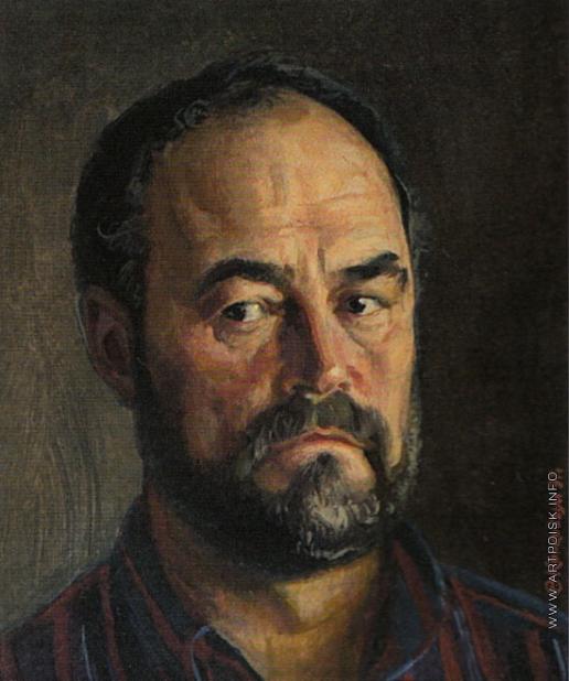 Коркодым В. Н. Портрет художника Николая Бурдастова