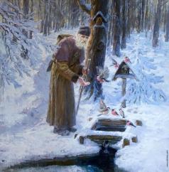 Бурдастов Н. Ю. Снегири