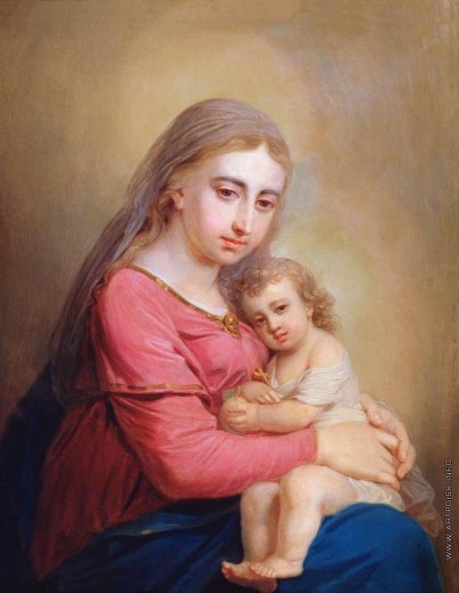 Боровиковский В. Л. Богоматерь с младенцем