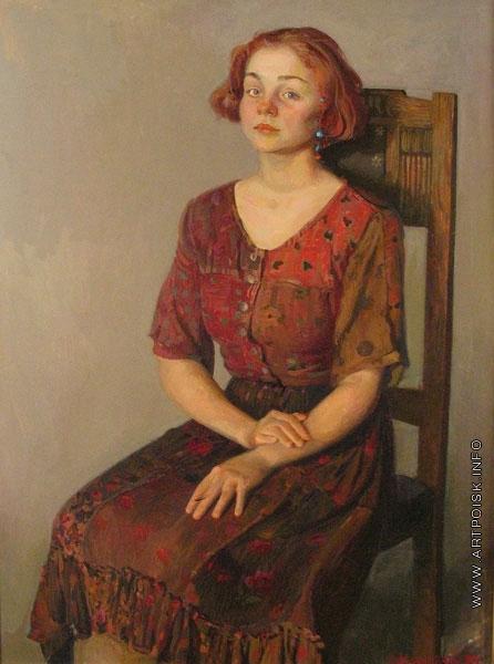 Коркодым В. Н. Портрет Вари Назаровой