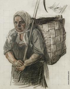 Коркодым В. Н. Рисунок к картине