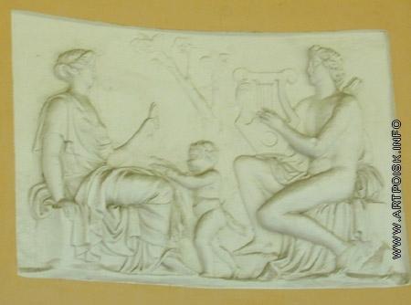 Козловский М. И. Аполлон, играющий на лире перед Церерой