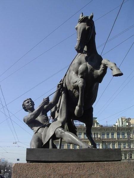 Клодт П. К. Укротители коней. Скульптурное оформление Аничкова моста