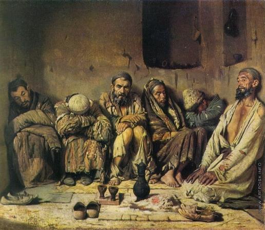 Верещагин В. В. Опиумоеды