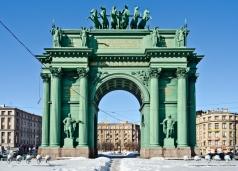 Кваренги Д. Нарвские ворота в Санкт-Петербурге