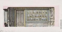 Кваренги Д. Картинный кабинет. Разрез